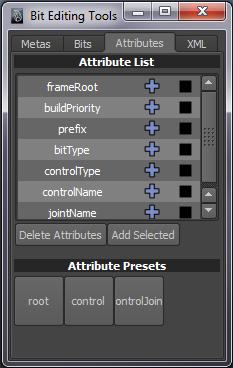 Bit Editing Tools